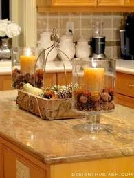 kitchen countertops decorating ideas fall home tour part 2 kitchens autumn and holidays