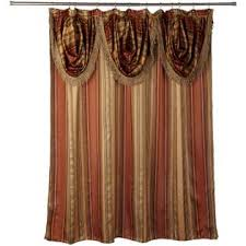 Double Swag Shower Curtain With Valance Floral Double Swag Shower Curtains Hobby Lobby Outdoor Furniture