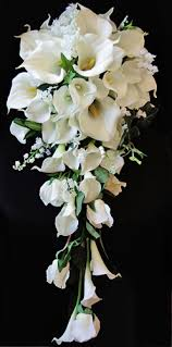 calla lilies bouquet touch white real touch calla lilies bouquet