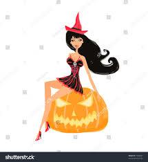 halloween witch stock vector 77808097 shutterstock
