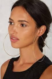 loop earrings best hoop earrings popsugar fashion photo 9