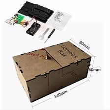 useless box diy kit useless machine birthday gift toy geek gadget