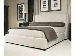 bernhardt interiors beds queen size cooper upholstered wing bed bed shown may not represent size indicated nail trim comes standard in 10 nickel unless 1 brass 6 antique