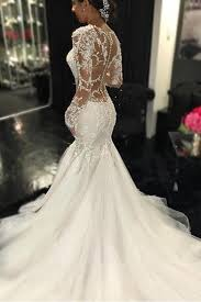 lace mermaid wedding dresses sleeve lace mermaid wedding dresses see through