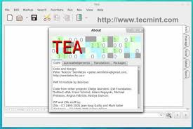 design text editor using c tea an ultimate text editor cum word processor for linux