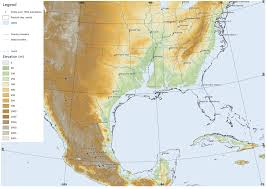 South Usa Map by Neogene Atlas Of Ancient Life Geology Usa Map States And Capitals
