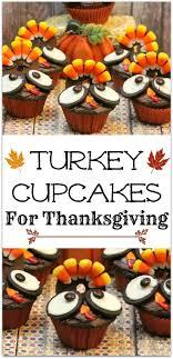 thanksgiving turkey cupcakes recipe school cupcakes