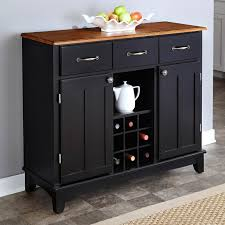 Kitchen Island Buffet Home Styles Large Wood Server Kitchen Island Server With Wine