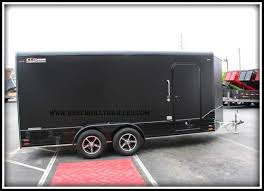 V Nose Enclosed Trailer Cabinets by Legend Aluminum Deluxe V Nose Cargo Trailer 7 U0027 X 19 U0027 719dvnta35