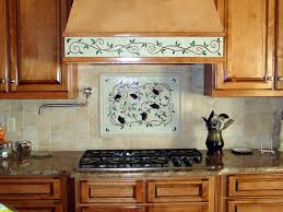 kitchen backsplash mosaic mosaic kitchen backsplash artwork grapes vines designer