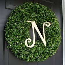 boxwood wreath custom artificial boxwood wreath outdoor year door