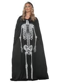skeleton cape womens costume gothic costumes new for 2017