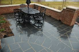 Slate Patio Pavers Modern Concept Slate Pavers For Patio With Black Slate Paving