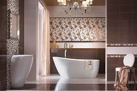 bathroom tiles flower design