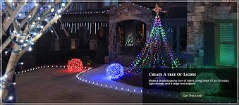 Light Up Topiary Balls - outdoor christmas yard decorating ideas