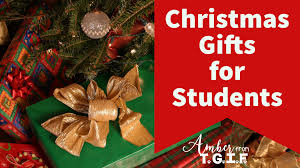 christmas gifts for christmas gifts for students from tgif third grade is