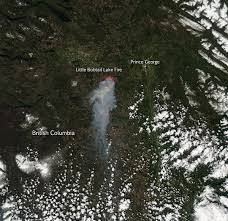 Prince George Bc Wildfire by Fires In Vietnam Nasa