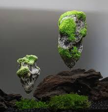 shop aquarium artificial floating pumice suspended