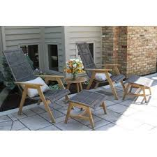 Patio Furniture Without Cushions Cushionless Patio Furniture Sets Birch