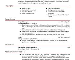 cover letter email bullet points