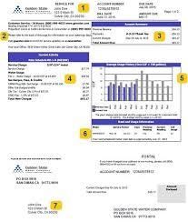 golden state water company understanding your bill