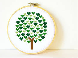 counted cross stitch pattern pdf instant tree of