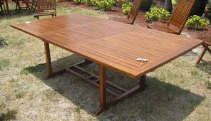 Teak Outdoor Furniture Clearance Outdoor Teak Rectangle Dining Table Exotic Home Furnishings