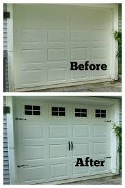 Garage Door Covers Style Your Garage Faux Fake Garage Door Windows Custom By Bigevilgrincustoms
