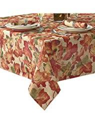 thanksgiving tablecloths kitchen table linens