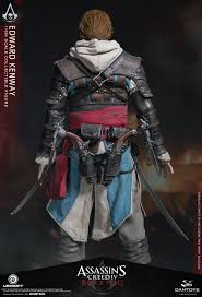 edward kenway costume pre order dam toys assassins creed black flag edward kenway