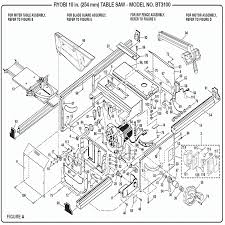 bosch table saw motor manual location dewalt dw744x table saw