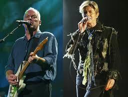 Led Zeppelin Comfortably Numb Flashback David Gilmour David Bowie Perform U201ccomfortably Numb U201d