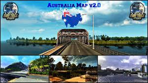 Austrailia Map Australia Map V2 0 Ets 2 Download Mod Youtube
