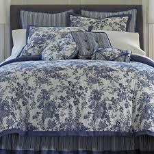 Jcpenney Queen Comforters Toile Garden Comforter Set U0026 Accessories Jcpenney