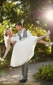 Tulle Wedding Dresses Knee Length Tulle Wedding Gown I Essense Of Australia
