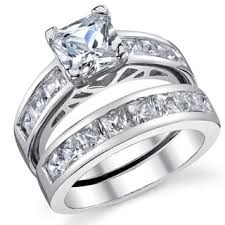 Cubic Zirconia Wedding Rings by Cubic Zirconia Wedding Rings For Less Overstock Com