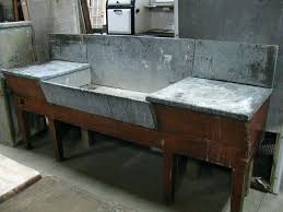 prep table with sink outdoor prep table farmhouse sink with 9 outdoor prep table and