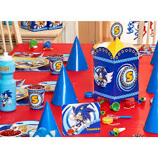 sonic the hedgehog party supplies sonic the hedgehog basic party kit