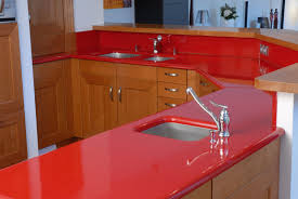 best material for kitchen cabinets kitchen best material for kitchen countertop glossy red porcelain