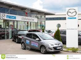 mazda car dealership mazda dealership editorial stock image image 41225039