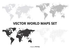 vector map vector map set free vector stock graphics