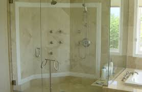 tub with glass shower door shower glass shower surround communication shower door