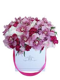 flowers in a box dazzling ivi floral design luxury boxed flowers new york
