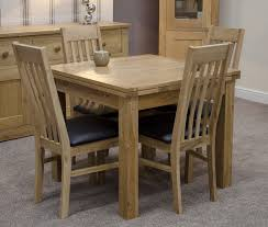 Oak Dining Table And  Chairs Dining Rooms - Solid oak living room furniture sets