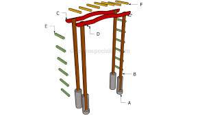 building a garden arbor plans diy free download mudroom bench