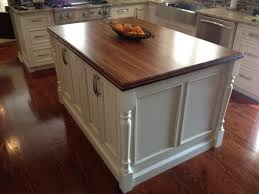 cheap kitchen island with walnut wooden floor and white wooden