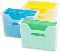 Small Desk Top by Amazon Com Iris Desktop File Box 6 Pack Small Clear Home