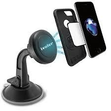 porta iphone 5 auto ivoler supporto magnetico auto universale adesivo su cruscotto