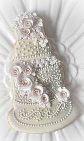 Wedding Cake Cookies Lovely Wedding Cake Cookie Debbie Orcutt 2361996 Weddbook