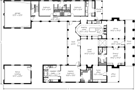 courtyard floor plans a courtyard home mouzon design southern living house plans